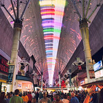 guide to 3 days in Las Vegas - Fremont Street