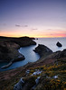 Boscastle Sunset