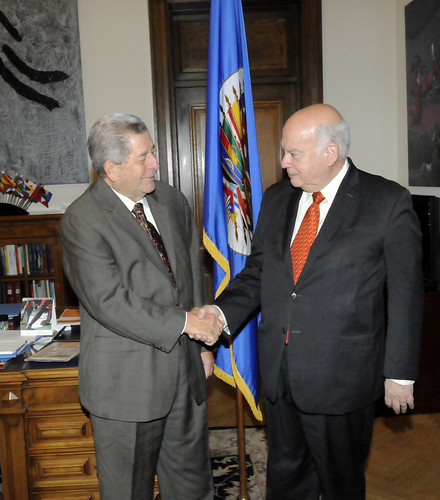 Secretary General Receives New Representative of Panama to the OAS