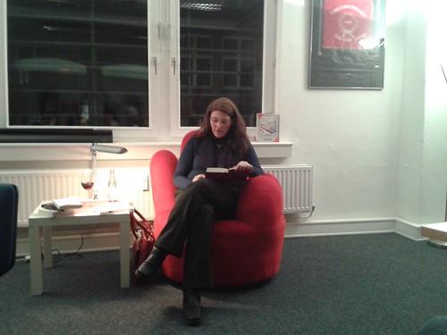 Der rote Sessel im März 2013