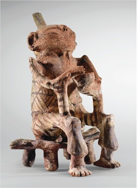 Figurine masculine assise sur un petit bancbrCulture TrujillobrEtat de Trujillo, Venezuelabr1300-1500 ap. J.-C. - Mozilla Firefox_3