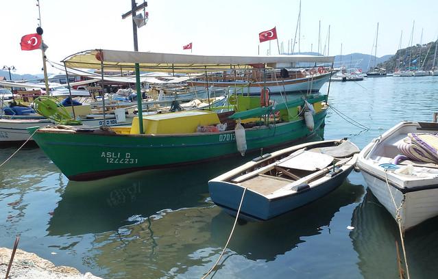 Turquie - jour 8 - Baie de Kekova - 35 - Üçağız