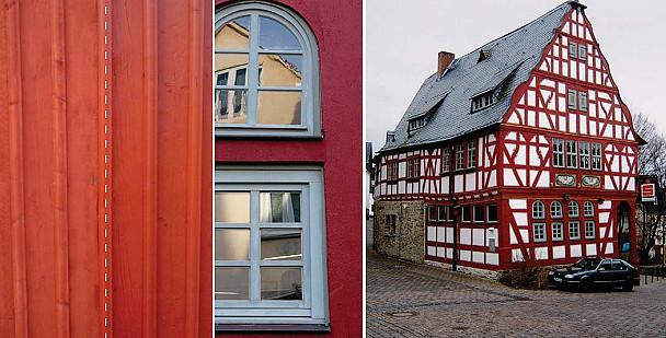 Keuken Rood Verven : Red Licht Zweeds rood Rode kleuren PURE PAINT Eerlijke Verven