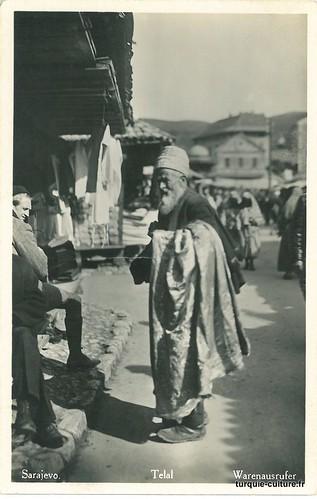 Sarajevo, Telal (vendeur à la criée)