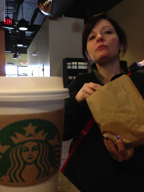 Sheryl at Starbucks