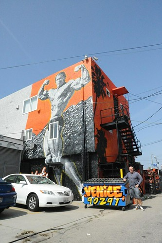 Arnold Schwarzenegger Mural Venice Beach
