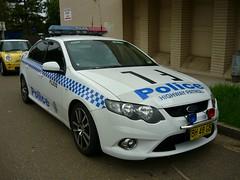 2010 Ford FG Falcon XR6 Turbo - NSW Police - FL202