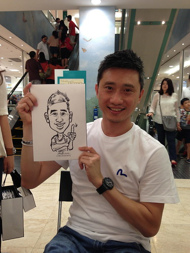 caricature live sketching for Takashimaya Good Friday Special - 13