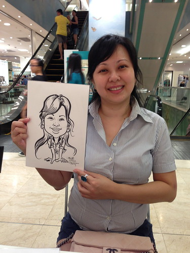 caricature live sketching for Takashimaya Good Friday Special - 16