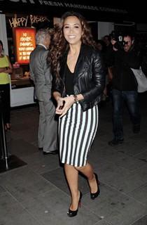 Myleene Klass Monochrome Trend Celebrity Style Women's Fashion