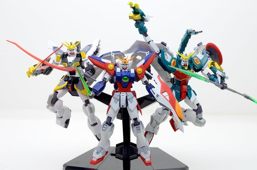 Gundam Wing Trio