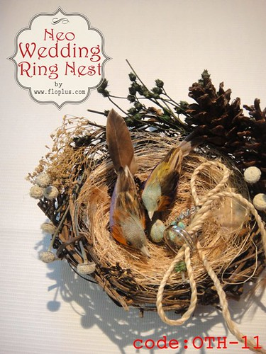 new natural bird ring nest 2