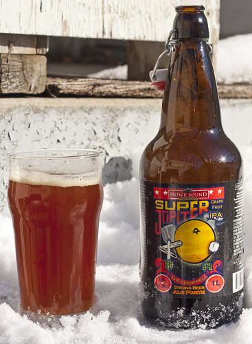 Review: Howe Sound Super Jupiter Grapefruit IPA by Cody La Bière