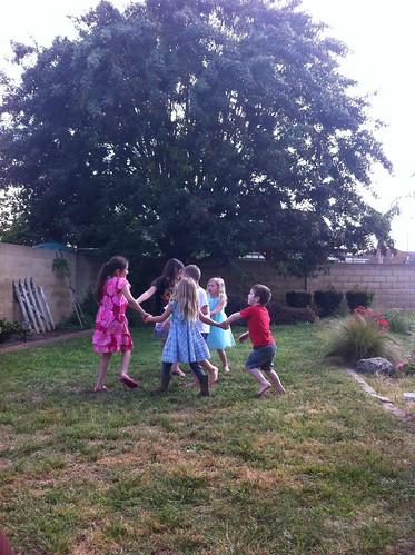 spinning kids.
