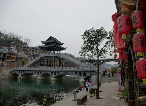 Hunan13-Fenghuang-Ville-Rive Nord (77)