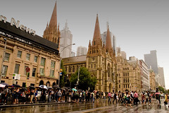 Rainy Day in Melbourne