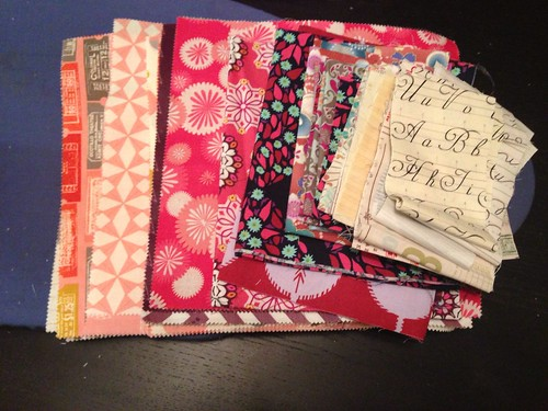 Fabric for twin girls
