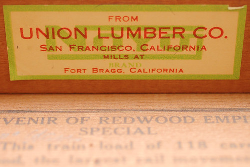 when was this commemorative redwood empire special box made? II.