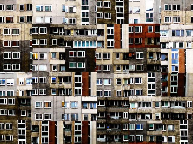 Bloque de viviendas -  Varsovia - Polonia