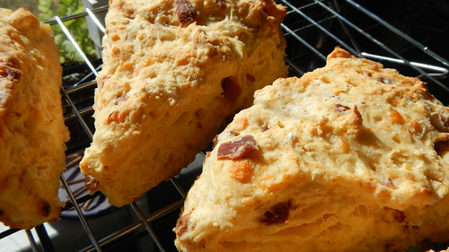 Bacon Cayenne Scones 14