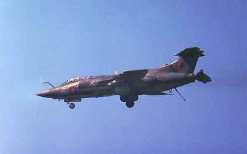 blackburn airshow 1978 raf s2 buccaneer royalairforce honington hawkersiddeley bassingbourn na39 xt273