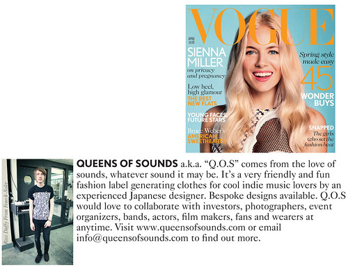 VOGUE UK - press by queensofsounds