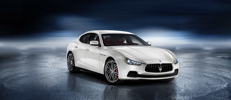 2014 Maserati Ghibli front