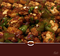 Paneer and Babycorn Manchurian