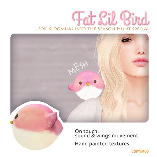 Fat Lil Bird - Shoulder Pet