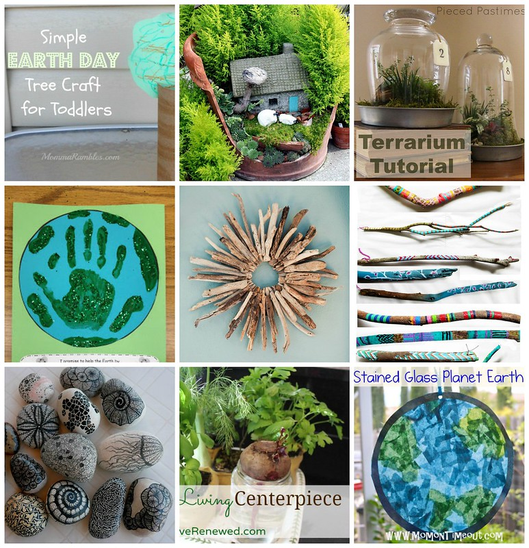 earth day, crafts, earth day crafts, kids crafts, natural ctafts
