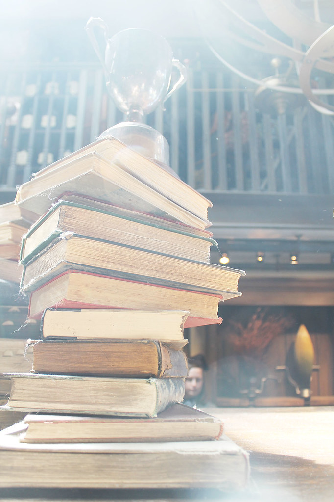 old books in hogsmeade