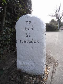 Holt milestone