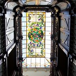 Stained glass in Casa Museo Modernista