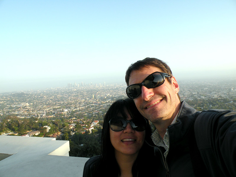 Us at Griffith Observatory