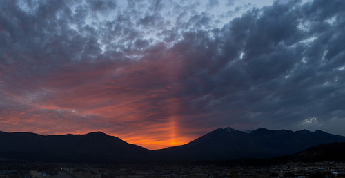 sunset arizona panorama clouds landscape flagstaff sanfranciscopeaks northcountry explored doneypark nuvatukyaovi nuvatukya'ovi dookooosłííd dook'o'oosłííd wimunkwa explored04242013