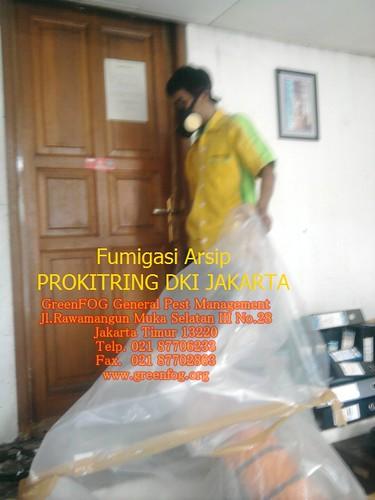 Fumigasi Arsip PROKITRING DKI JAKARTA