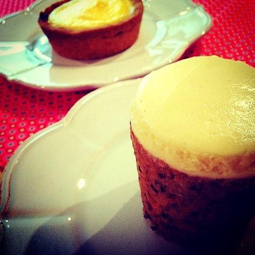 Rose Bakery … キャロットケーキとレモンタルト