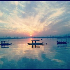 #Sunset #bathinda #lake