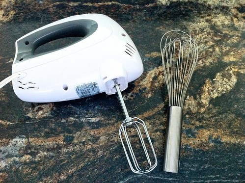 Electric Hand Mixer and Whisk