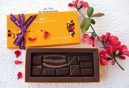 L'île de beauté à la Maison du Chocolat