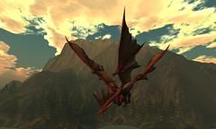 [HL] Dragon Colossus - red dramatic