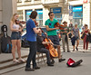 Street musicians