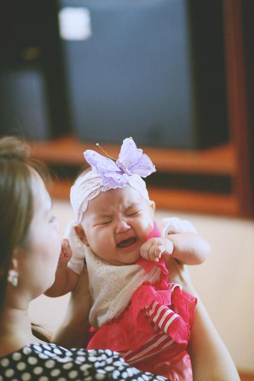 婚禮攝影-寶寶哭了