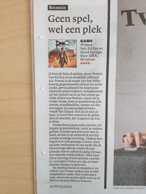 Alper's review of Proteus in nrc.next