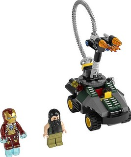 LEGO® Super Heroes Iron Man vs. The Mandarin: Ultimate Showdown 76008 Set