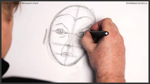 learn how to draw a womans face 012