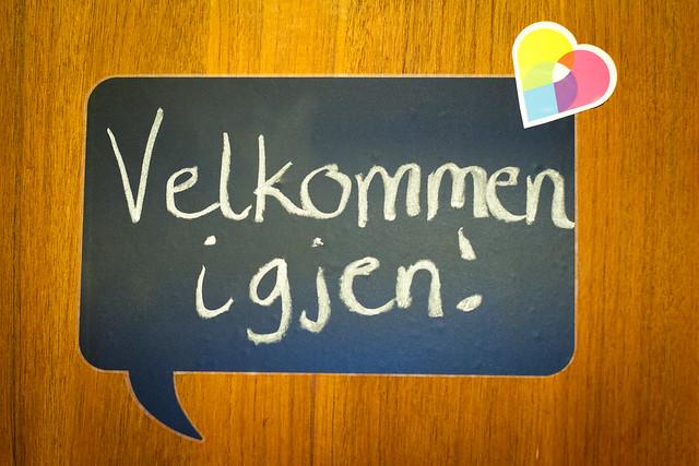 Velkommen igjen :)