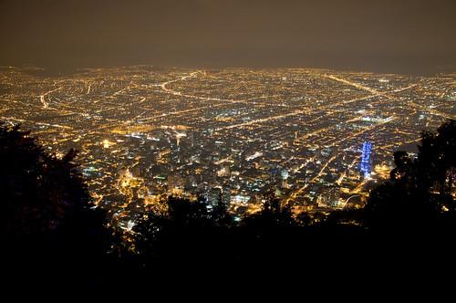 city night noche nikon colombia bogota view nocturnal ciudad vista nocturna monserrate 2012 d90 caut nikond90