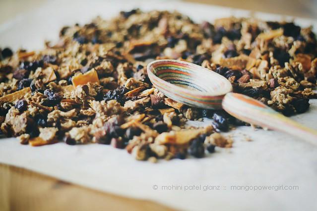 mango granola