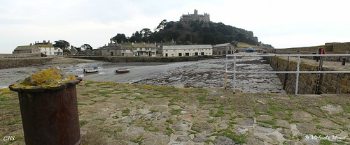 St. Michael's Mount Harbour by Stocker Images